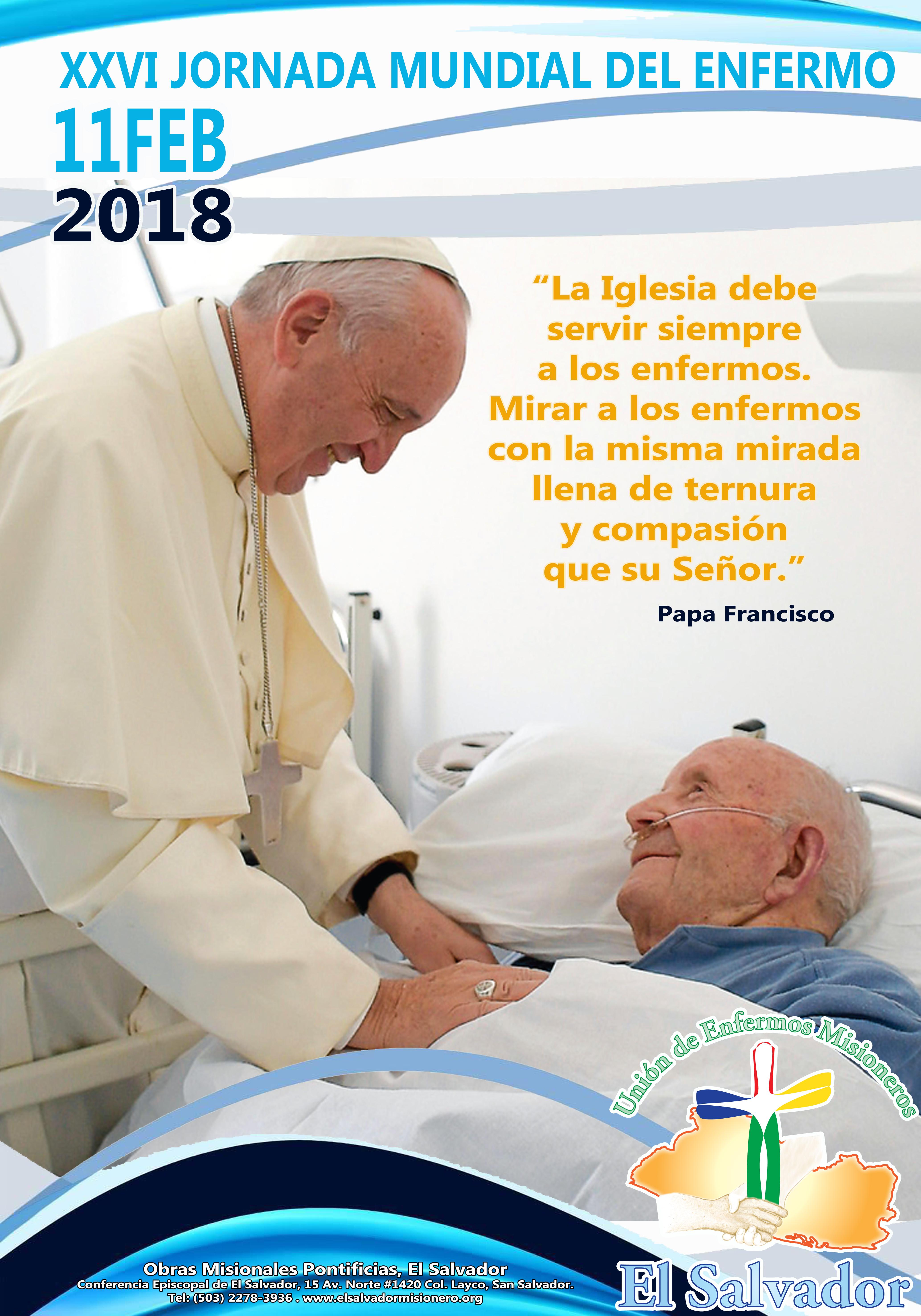 Jornada Nacional del Enfermo 2018