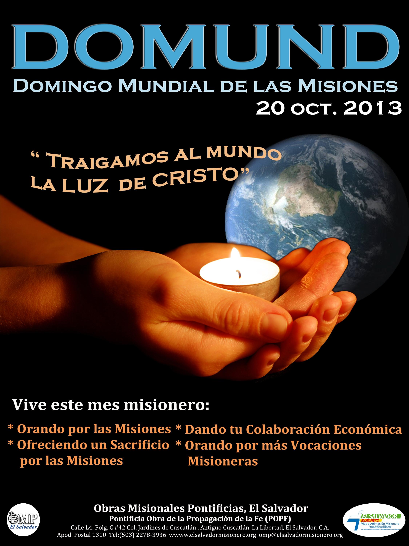 Octubre Misionero Domund 2013 El Salvador Misionero